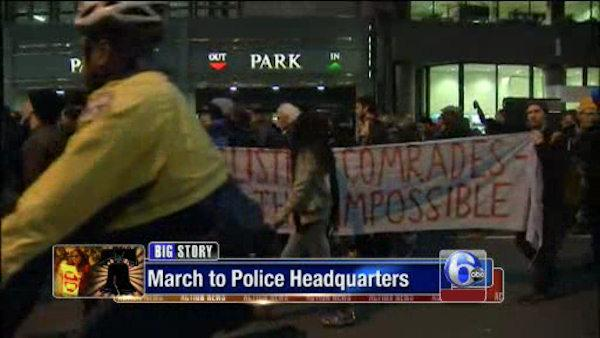 Occupy Philly moves to police HQ