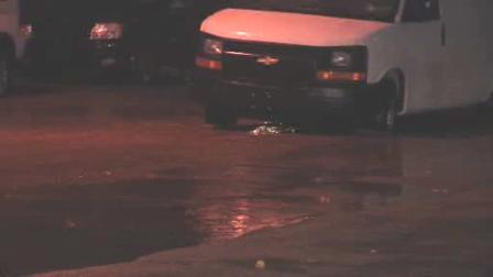 A water main has burst in the West Oak Lane section of Philadelphia.