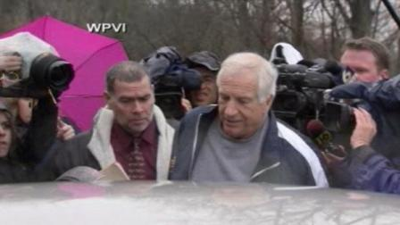 Jerry Sandusky leaves jail