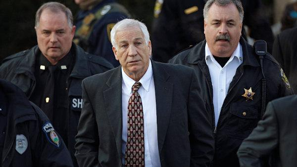 Sandusky, lawyer talk after hearing waived