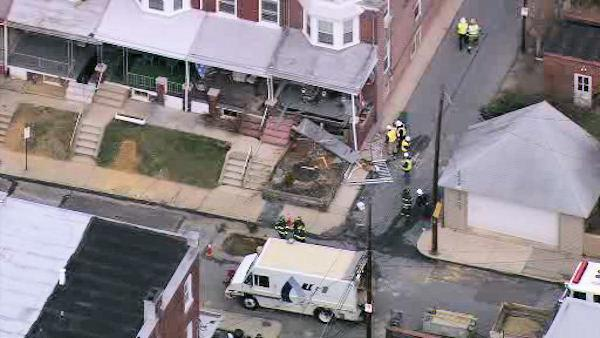 Developing - Gas Explosion at Allentown Home- 6at4