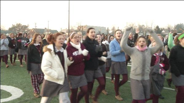 Catholic students rally for their schools