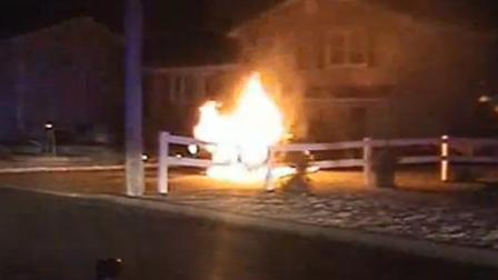 Police rescue NJ man from burning car