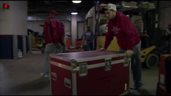 Phillies equipment truck heads to Florida
