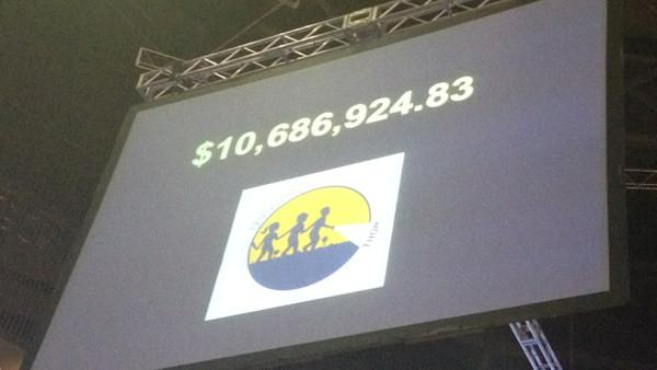 Record total at Penn State THON 2012