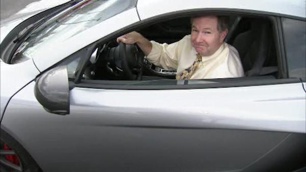 John Rawlins takes a spin in a supercar