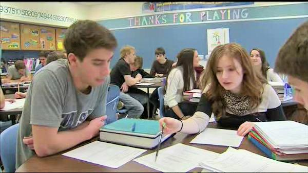 Boosting test scores at Lehigh Valley school