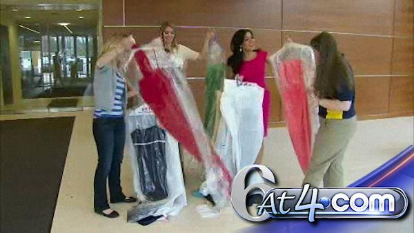 Action News helps college prom dress drive - 6at4