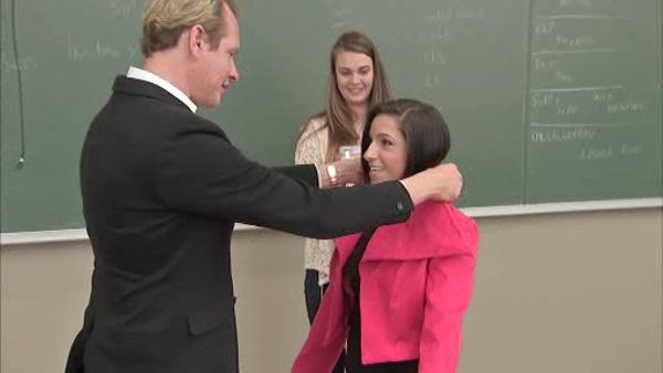 Carson Kressley visits Philly fashion students