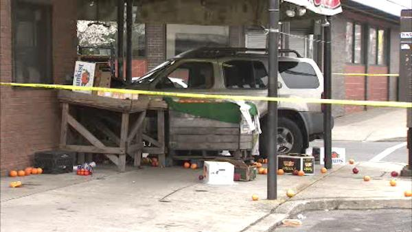 Child killed in South Phila. seafood market crash
