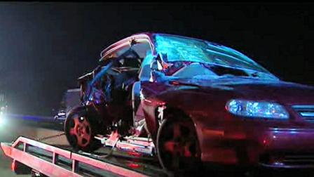Three injured in crash on I-495 in Delaware