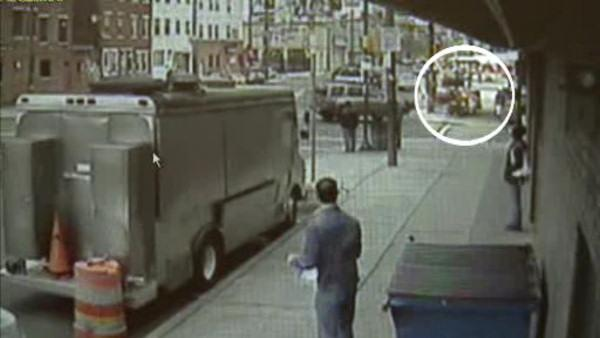 Surveillance released in Italian Market crash
