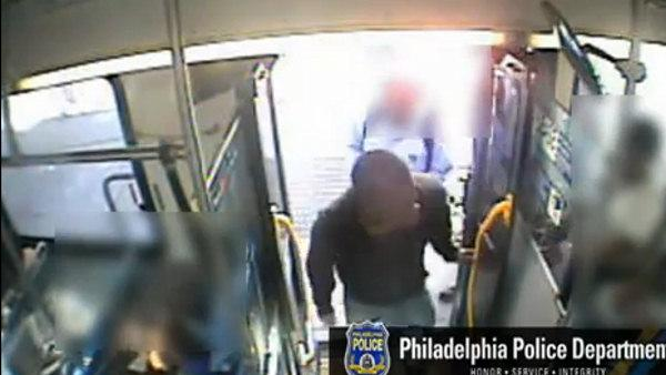 SEPTA bus robbery caught on tape
