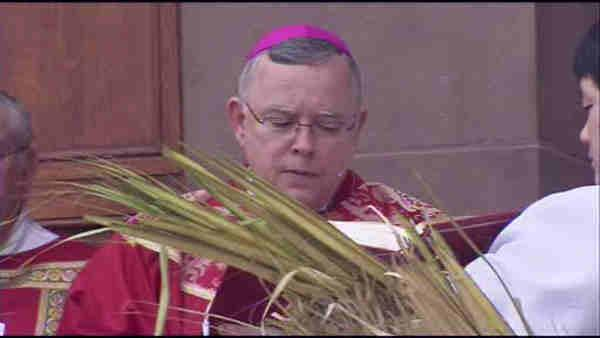 Archbishop Chaput celebrates first Palm Sunday