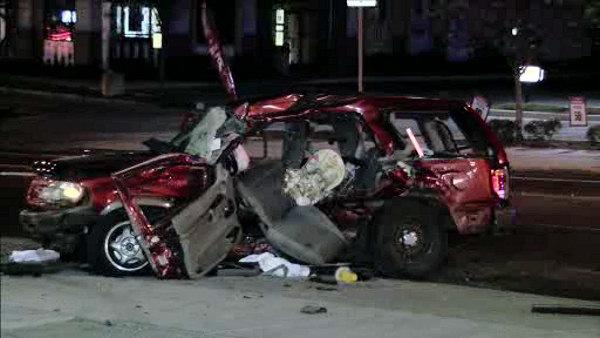 1 killed, 5 injured in Germantown crash