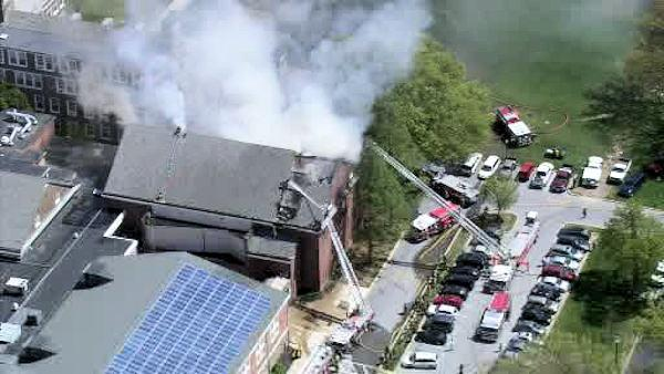Wilmington Friends School fire ruled arson