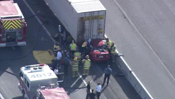 Police ID man killed in NJ Turnpike crash