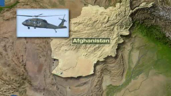 Blackhawk chopper crashes in Afghanistan