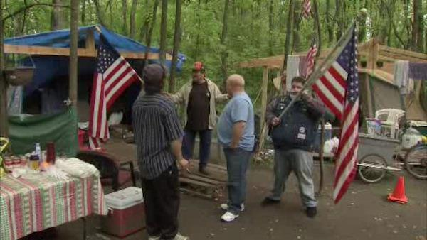 Deadline arrives for Bucks Co. homeless camp