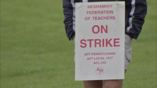 Reaction to Neshaminy teachers strike