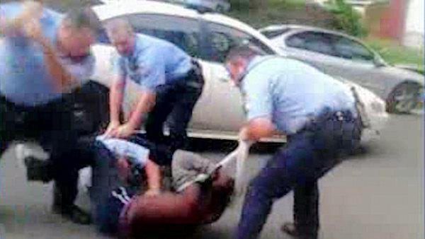 Violent arrest raises questions in Kensington