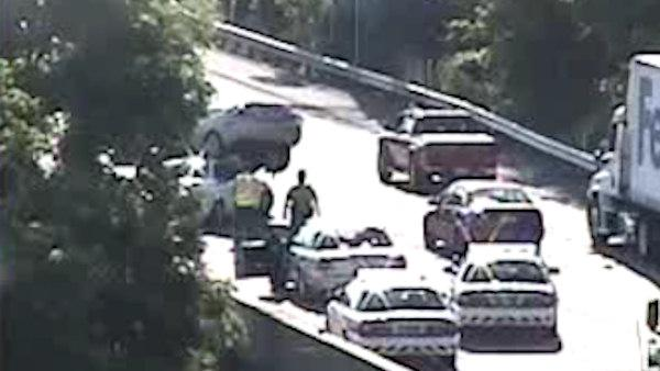 2 crashes on same stretch of I-95 NB in Bristol Twp.