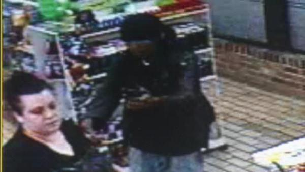 Serial robber caught on tape in Upper Darby