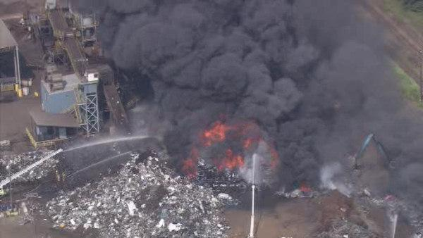 Bucks Co. industrial park fire under control