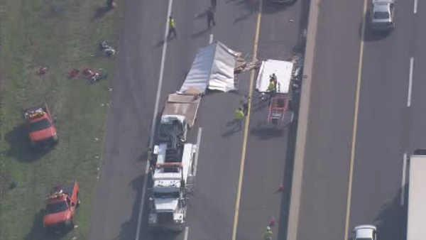 1 injured in truck accident on NJ Turnpike