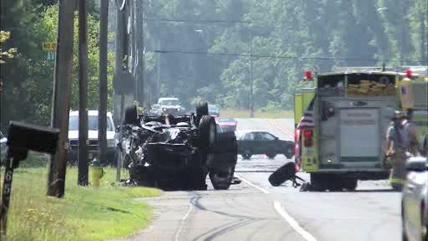 Fatal crash in Galloway Township