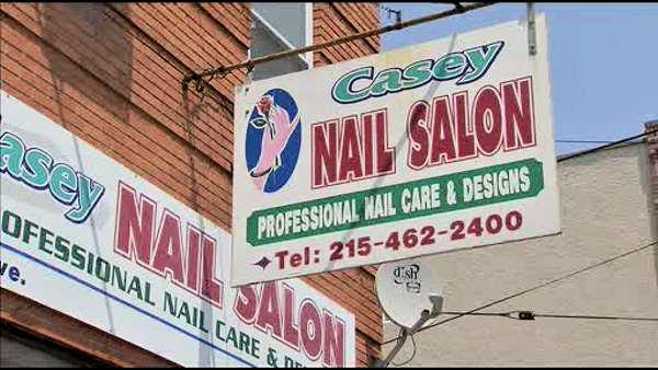 Robbers hit 2 nail salons in S. Phila.