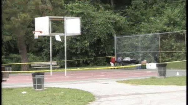 Phila. police: 4 shot during basketball game