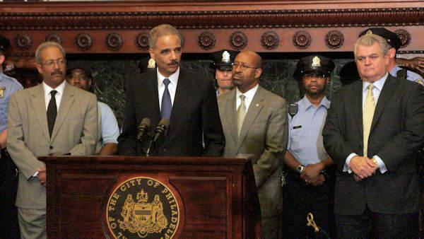 AG Holder announces police hiring grants in Philly