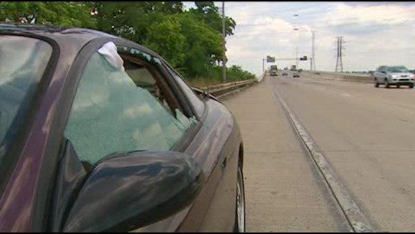 Police: Vandals damage cars on highways