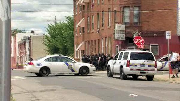 Standoff in North Philadelphia
