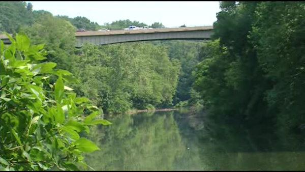 Woman pulled from river after jump from bridge