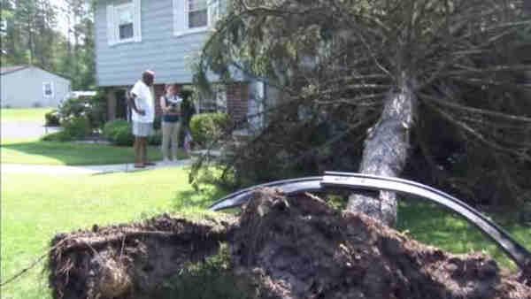 NJ clean-up continues after deadly storms