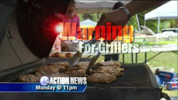 MON @ 11: Important warning for grillers