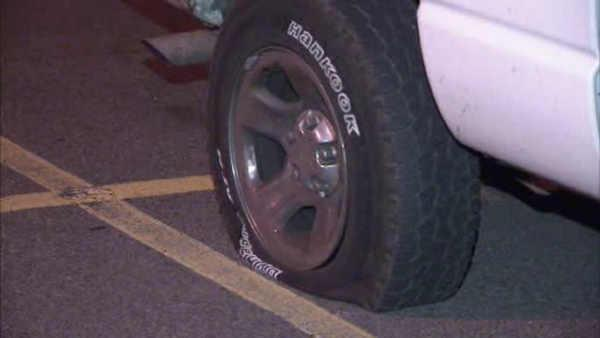 Tires slashed at Somerton saloon