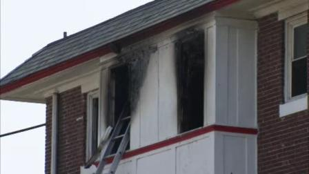 Man leaps from window to escape Logan fire