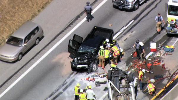 Crash on the Pennsylvania Turnpike