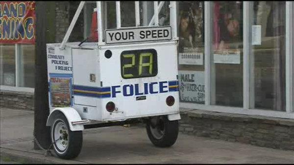 NJ man sets up his own speed limit sign