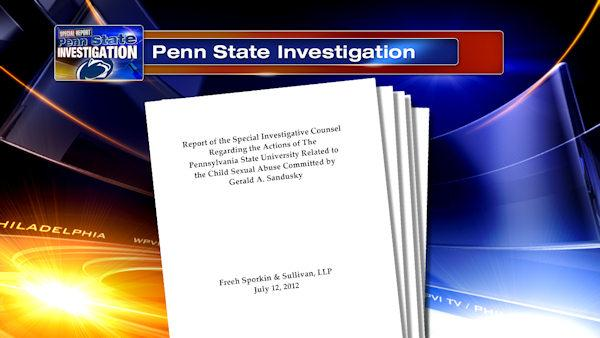 Former Penn St players say Freeh report