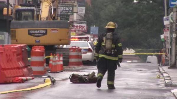 Old City residents evacuated for hazmat scare