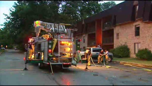 Over 12 displaced after lightning strike in Del.