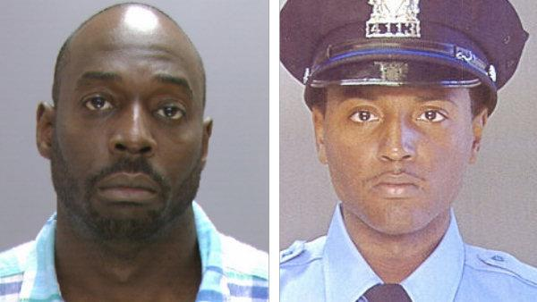 Suspect in death of Phila. officer out on bail