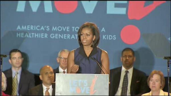 First lady in Philly to discuss healthy eating
