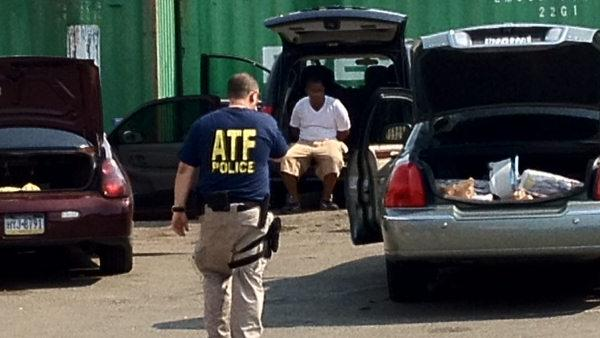 ATF raid in Southwest Philadelphia