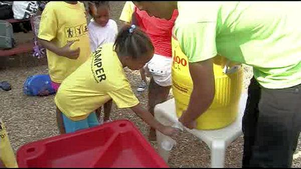 Philadelphia summer camps coping with the heat