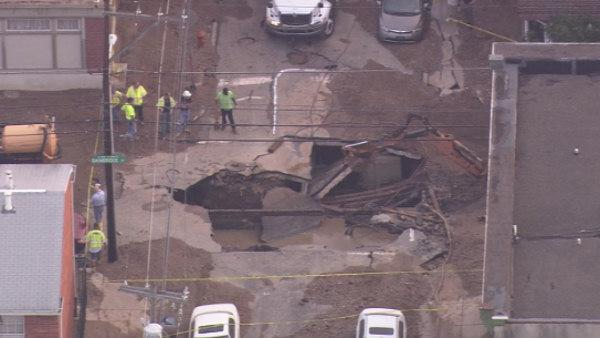 South Phila. water main break brings gas, electric woes